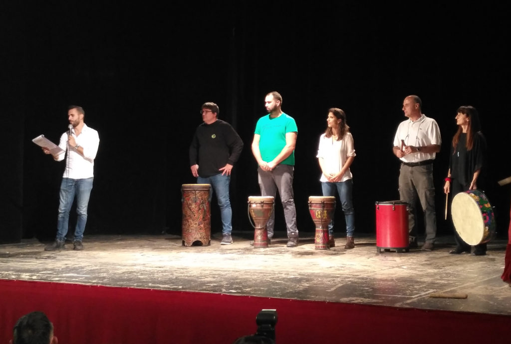 Yes, we sing & Drumcircle….Cabaleonte era presente!